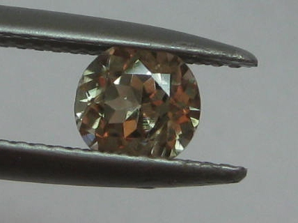 0.76 cts. Zultanite® Round Cut 5.5mm