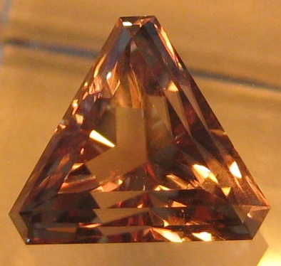 5.70 cts. Zultanite® Fancy Corner Triangle by Stephen Kotlowski