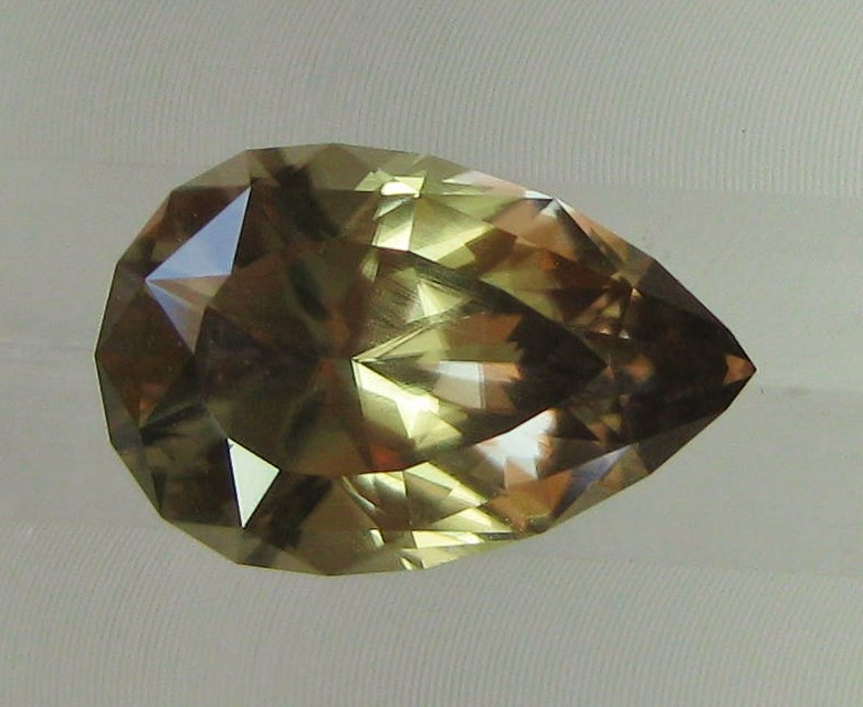 7.10 cts. Zultanite® Pear Shape 15.9x10.4mm