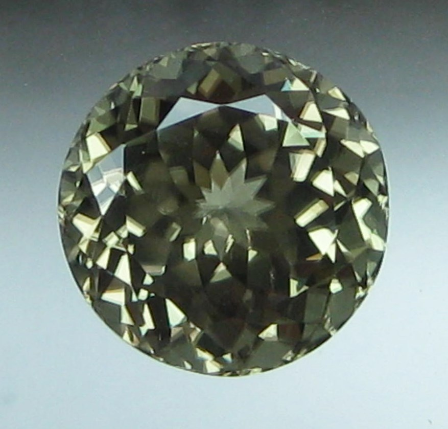 8.00 cts. Zultanite® Full Portuguese Round 11.7mm