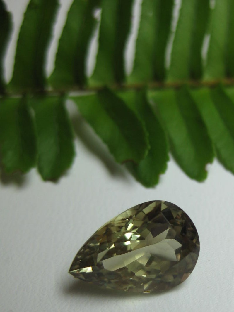 4.73 cts. Zultanite® Pear Shape 13x8.7mm