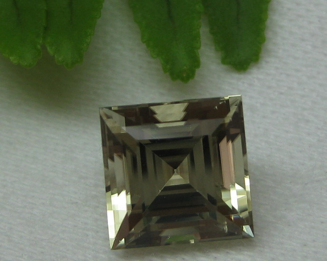 3.77 cts. Zultanite® Princess Step Cut 8.5mm
