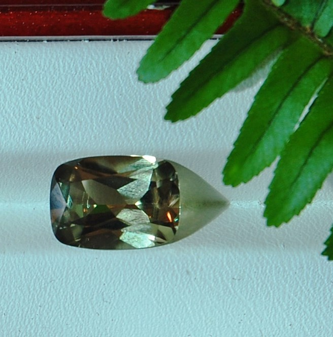 7.08 cts. Zultanite® Cushion Cut, 14x10mm