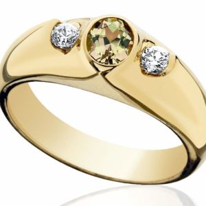 Ring, Yellow Gold 5x4mm Oval Zultanite®