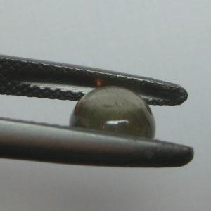 1.27 cts. Zultanite® Cabochon Round 6.5mm
