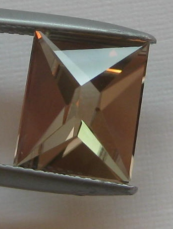 4.90 cts. Zultanite® Fancy Wobito Double Pyramid Cut 12mmx10mm