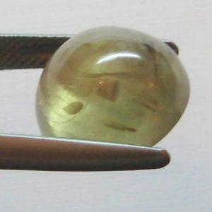 12.31 cts. Zultanite® Cabochon Round 13.5mm