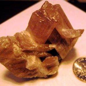 Zultanite Crystals Mineral Specimen #004