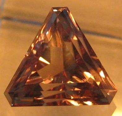 5.70 cts. Zultanite® Fancy Corner Triangle by Stephen Kotlowski