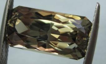 12.98 cts. Zultanite® Deep Arch Radiant by Stephen Kotlowski