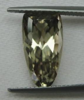 5.26 cts. Zultanite® Fancy False Shield 15.5x8.2mm