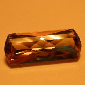 10.61 cts. Zultanite® False Bowtie Cut 21.7x8.8mm