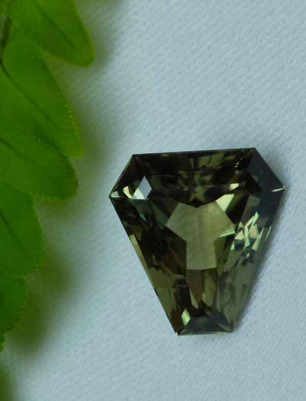 9.39 cts. Zultanite® Fancy Cut Corner Triangle, 15x14mm