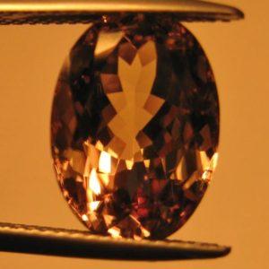 7.08 cts. Zultanite® Oval Cut, 14x10mm