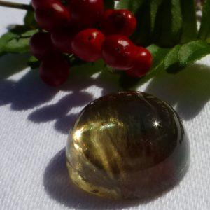 21.86 cts. Zultanite® Cabochon round, 16mm