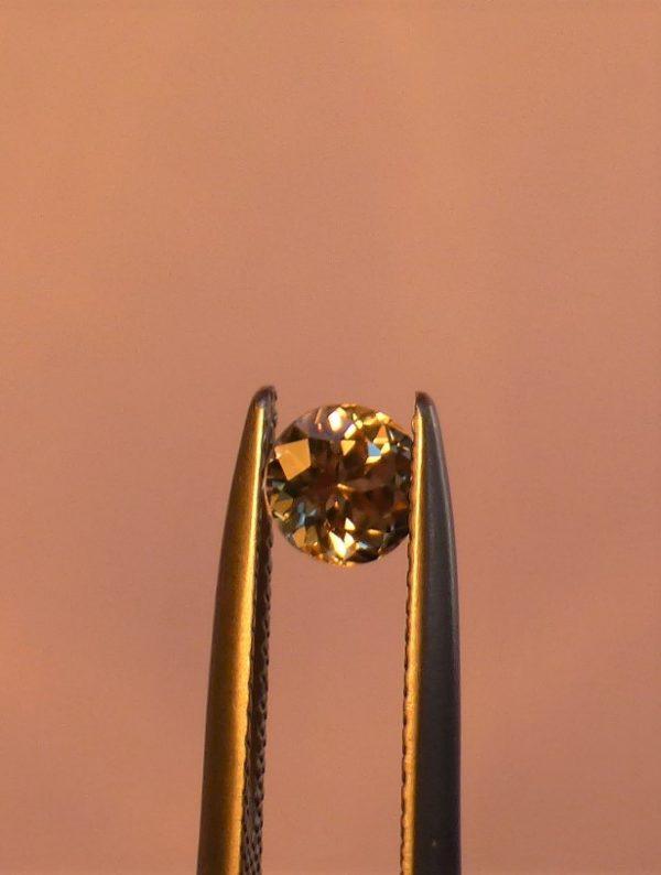 Zultanite Gemstone Round Cut 5mm