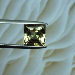 Zultanite Princess Cut Gemstone