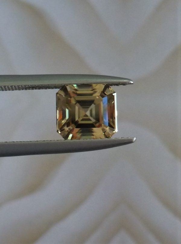 Zultanite Wobito Asscher Cut Gemstone