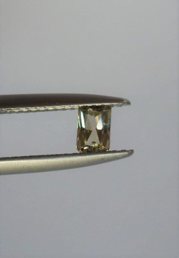 Radiant, Modified Emerald Zultanite Gemstone