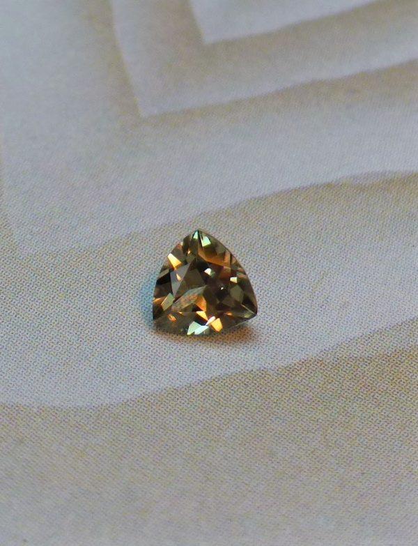 Zultanite Gemstone Trilliant